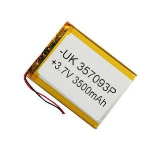 Аккумулятор для планшетов 3500 mA, 3,7v 3.4*80*102