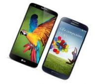 Сравнение смартфонов LG G2 и Samsung Galaxy S4