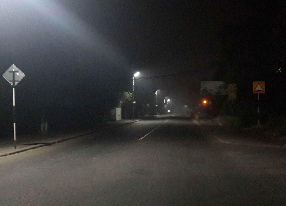 В городе ни зги не видно из-за дыма