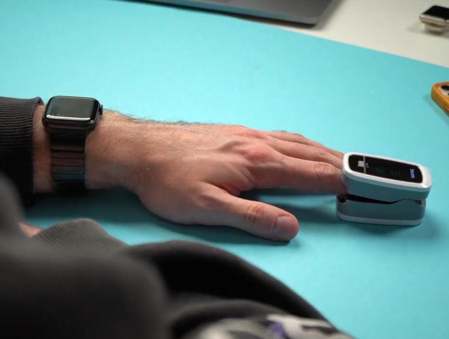 Измерение SpO2 для смарт часов Эппл