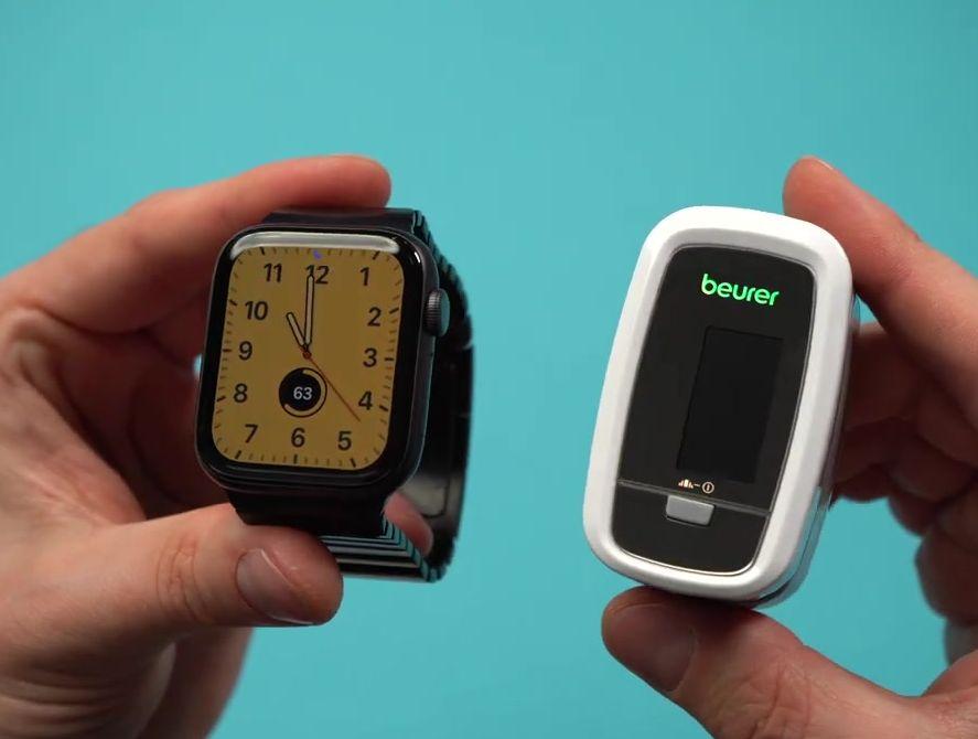 Beurer PO 30 и  смарт часы Эппл